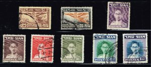 Thailand Stamp Thailand SIAM STAMP COLLECTION LOT #M4