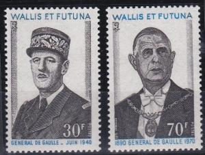 Wallis and Futuna 177-178 MNH (1971)