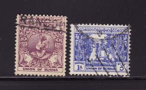 Burma 123, 125 U Dancer, Bell