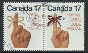 Canada SG 938a se-tenant pair 938 & 939  Philatelic Burea...