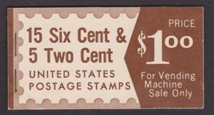 BK117 Combination Booklet - slogans 4 & 5 and Mail Moves back (Furman VIIIb)