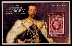 British Indian Ocean Territory Sc# 406 MNH King George V (S/S)