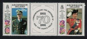 Ascension 65th Birthday of Queen Elizabeth II 2v 1991 MNH SG#539-540