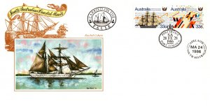 Australia, Worldwide First Day Cover, Ships, Maritime