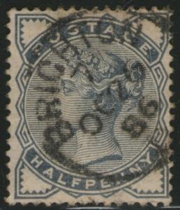 GREAT BRITAIN Used Scott # 98 Victoria (1 Stamp) -6