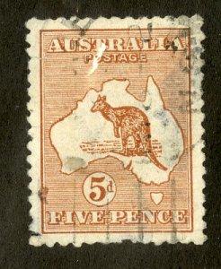 AUSTRALIA 7 USED THIN SCV $50.00 BIN $12.00 MAP