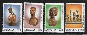 JAMAICA, 587-590, MNH, ACCOMPONG MADONNA