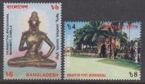 Bangladesh 624-625 MNH VF