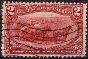US Stamp #286 USED SCV $2.75