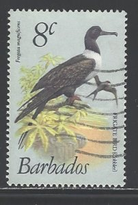 Barbados Sc # 498 used (DT)