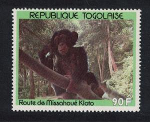 Togo Chimpanzee 1c 90f SG#2105