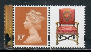 GB 2017 10p MACHIN CODE MPIL SG U3013 FROM PRESTIGE BOOK DY 20 MINT NEVER HINGED