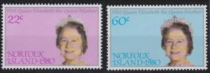 Norfolk Island 271-272 MNH (1980)