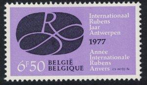 Belgium 400th Birth Anniversary of Peter Paul Rubens 2nd issue 1v SG#2459