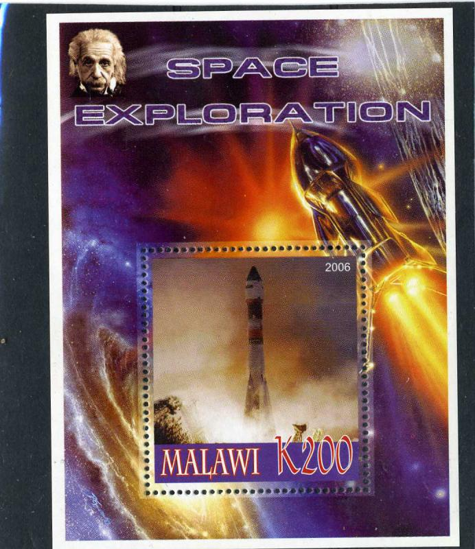 Malawi 2006 SPACE Einstein s/s Perforated mnh.vf