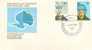 Australian Antarctic Territory Scott L53-L54 Unaddressed.