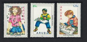 Aruba Child Welfare Philately 3v SG#373-375
