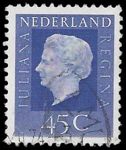 Netherlands #463 1972 Used