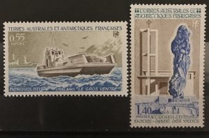 French Southern and Antarctic Territories 1983 #98-9, MNH, CV $1.80