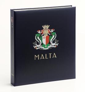 DAVO Luxe Hingless Album Malta II 1975-1988
