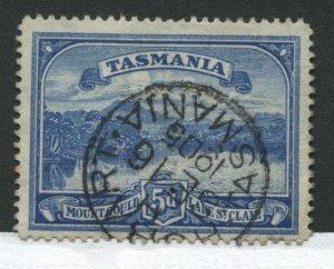 Tasmania 1899 5d ultra with CDS used