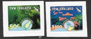 NEW ZEALAND SG3018/9 2008 UNDERWATER REEFS  S/A MNH