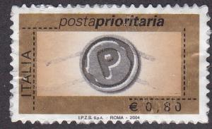 Italy # 2583, Priority Mail, Used