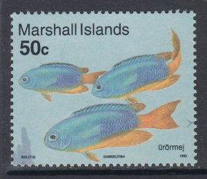 Marshall Islands 436 Fish MNH VF