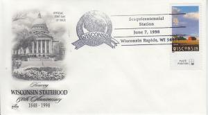 1998 Wisconsin Sesquicentennial Wisconsin Rapids Pictorial