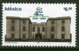 MEXICO 2336, Health Ministry, 60th Anniversary. MINT, NH. F-VF.