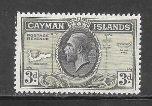 Cayman Islands #91 MH Single