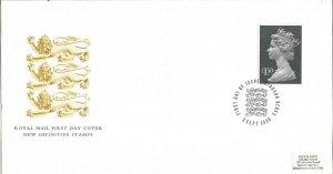Royal Mail FDC New Definitive Stamps 1986 £1.50 stamp Windsor Postmark Z9346