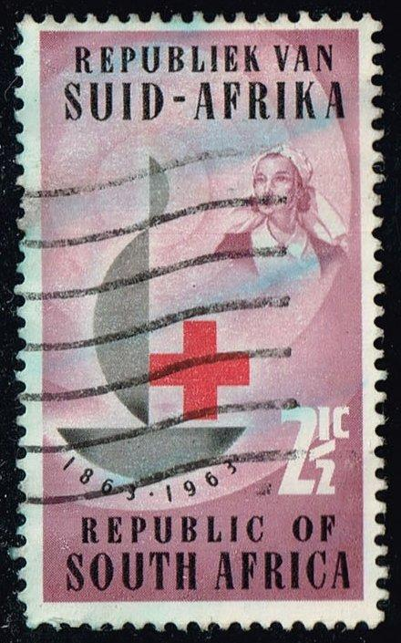 South Africa #285 Red Cross Centenary; Used (0.25)