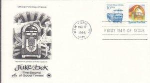 1995, Juke Box, Artcraft/PCS, FDC (E8089)