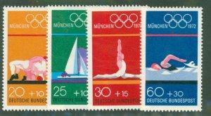 Germany B485-88 MNH CV $6.00 BIN $3.00