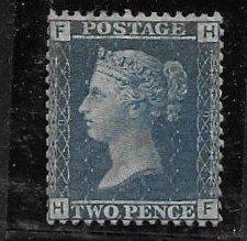 GB 29 pl9 1850 iaaue  VF ( NH -regummed)