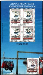 Greenland #B23, B23a  F-VF Used CV $12.50 (X4878L)