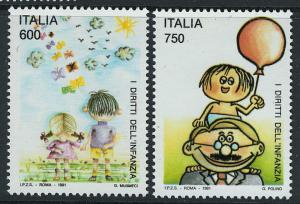 Italy Scott 1845-46 MNH!