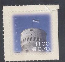 Estonia Sc 530 2006 Pikk Hermann Tower Euroa added stamp
