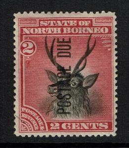 North Borneo SG# D1, Rose Lake, Mint Hinge, Hinge Remnant - Lot 112316