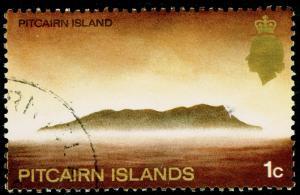PITCAIRN ISLANDS SG94, 1c multicoloured, FINE USED, CDS.