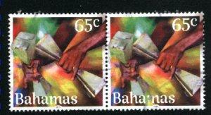 Bahamas   Pair  -1 used 2019 PD