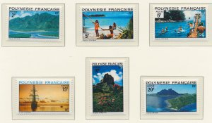 French Polynesia Stamps Scott #278 To 283, Mint Hinged - Free U.S. Shipping, ...
