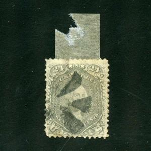 UNITED STATES   24c WASHINGTON  SCOTT#78  USED ---SCOTT $350.00