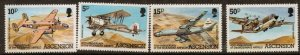 ASCENSION SG318/21 1982 WIDEAWAKE AIRPORT  MNH