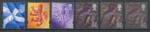Great Britain - Scotland 14-19 used (1999-2002)