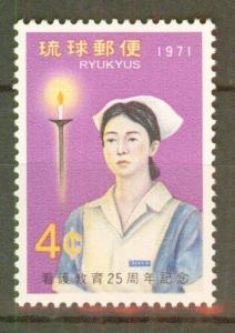 RYUKYU Scott 223 MNH** Nurse Stamp  of 1971