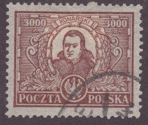 Poland 193a Stamstaos Konarski 1923