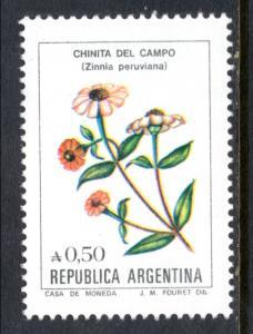 Argentina 1523 Flowers MNH VF