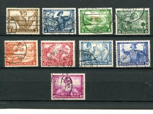 Germany  Wagner Set used   VF -   Lakeshore Philatelics